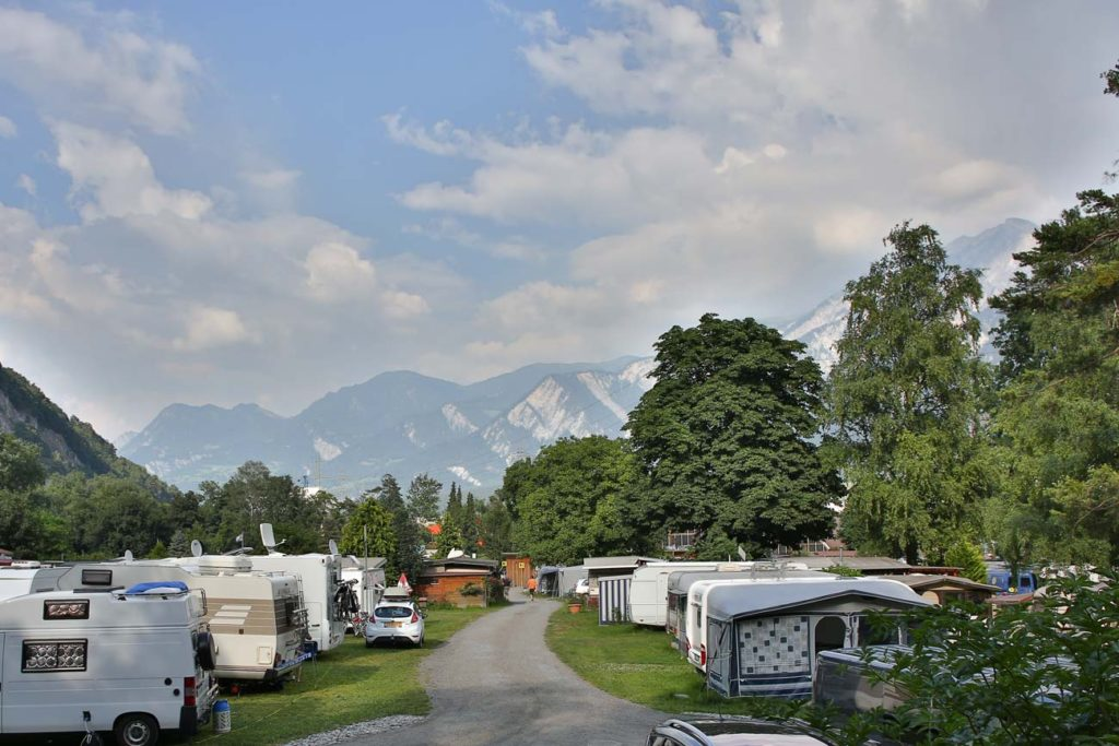 Campingplatz Camp Au Chur